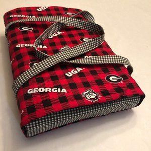 UGA Insulated Casserole Carrier - Homemade